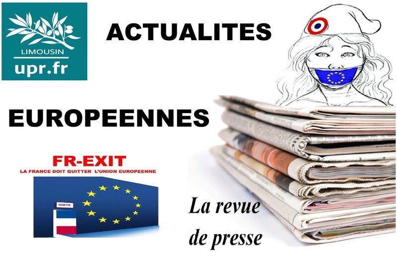 ACTUALITES EUROPEENNES