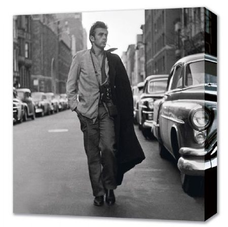 lgcvf016_strolling_down_broadway_new_york_james_dean_canvas_canvas