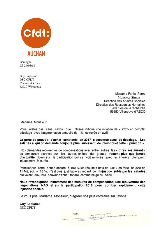 courrier nao th 08 18