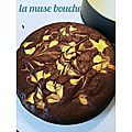 *brownie marbré au cheesecake*