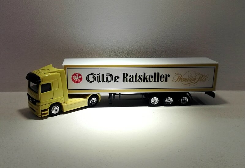 Mercedes Actros (Gilde Ratskeller) High Speed