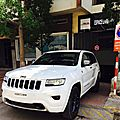 Location jeep grand cherokee limited 2017 à casablanca