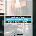 Responsable marketing digital : la place d'un spécialiste du marketing digital dans une pme au cameroun
