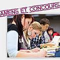 Examens et concours