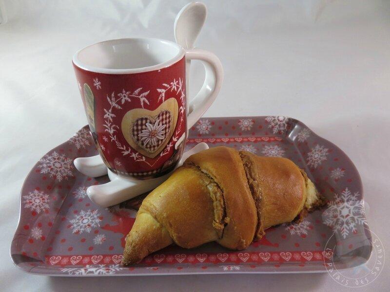 Croissants briochés aux Spéculoos