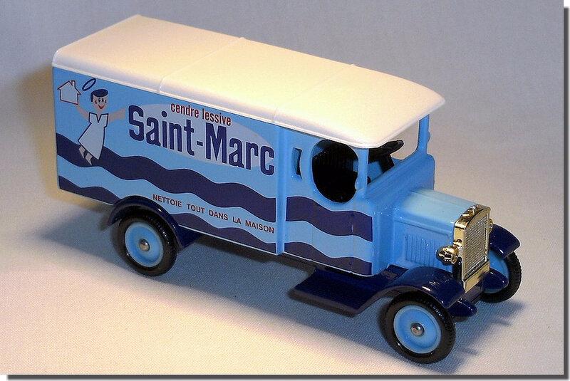 Altaya Corgi 30 Morris Van Saint Marc 1