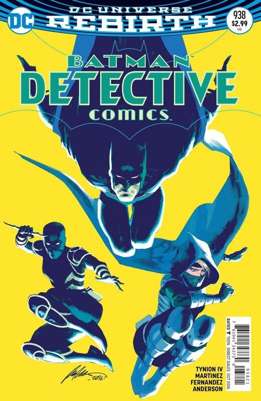 rebirth detective comics 938 variant