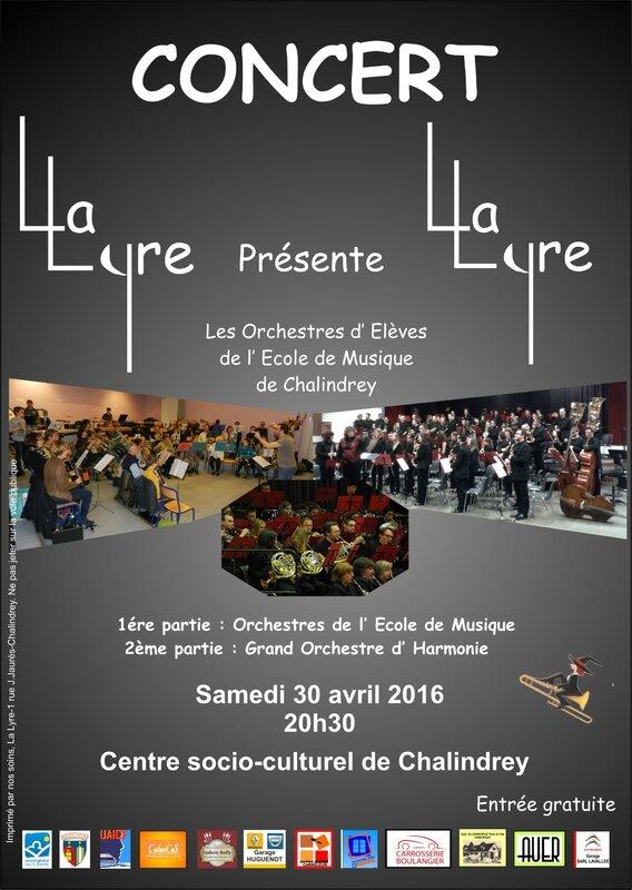 LA LYRE 2016 concert annuel