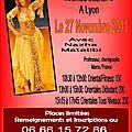 Stage de danse orientale avec nazha matalibi le 27 novembre 2011