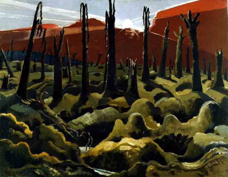Paul Nash We are Making a New World 1918