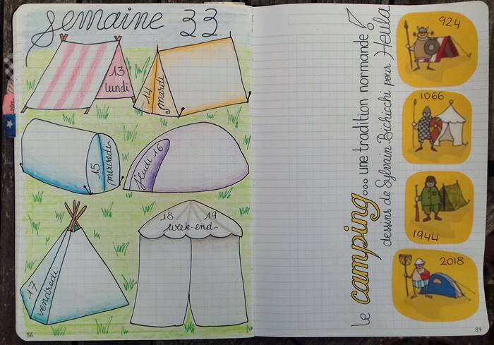 semaine 33_theme camping