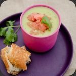 Gaspacho de légumes verts