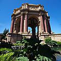Palace of fine arts, san francisco - californie