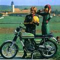 Programme zündapp 1977 /france /ks125
