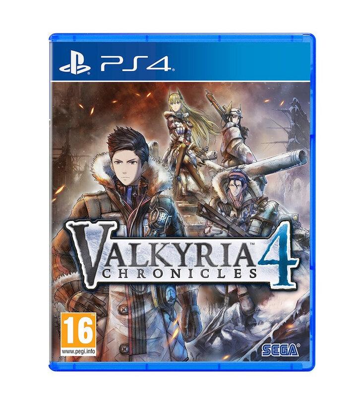 Valkyria Chro 4 PS4
