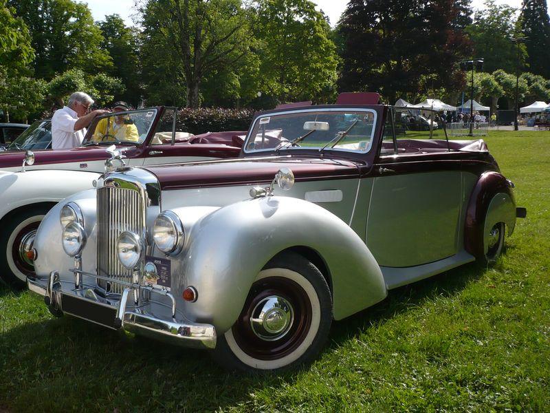ALVIS TA21 Drophead coupé 1952 Lons le Saunier (1)