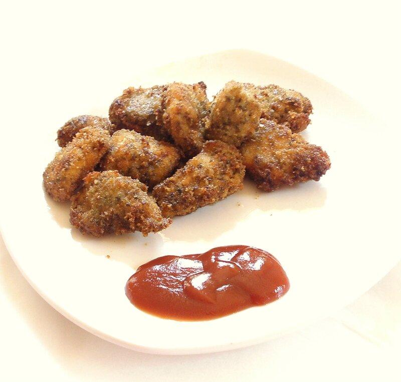 Recette de nuggets de poulet au pesto