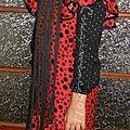 Robe de flamenco homemade (faite maison) et tous ces accessoires