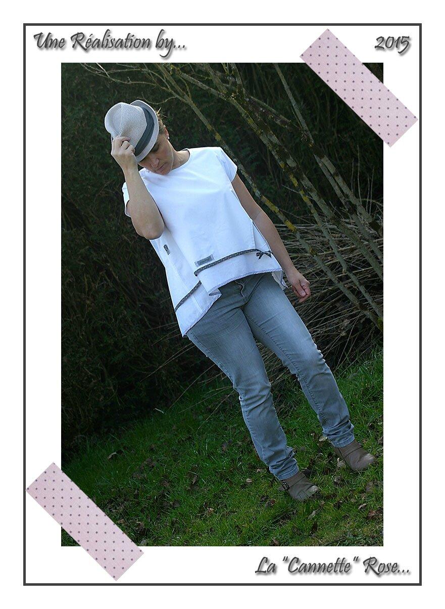 Tunique Burda Blanche 05