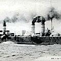 1917-06-30 Le croisseur Kleber coulé le 27 juin par une mine au large de la pointe Saint-Mathieu c