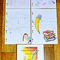 Pages de présentation 6ème D.