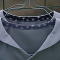coudre chemisette à col marin