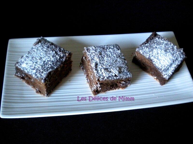 Brownies fondants 4
