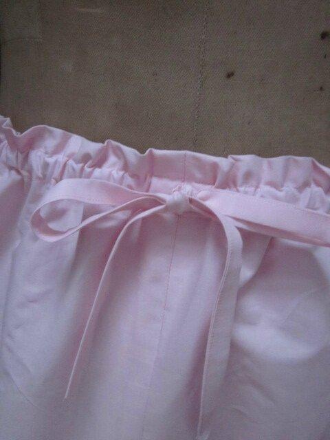 Panty en coton rose tendre (3)