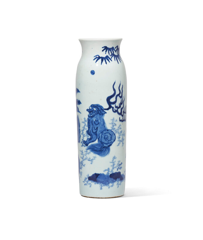 2020_HGK_18243_0329_000(a_blue_and_white_mythical_beast_sleeve_vase_late_ming-early_qing_dynas125821)