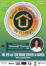 AFFICHE SALON DE L'HABIAT DE L'UZEGE 2019