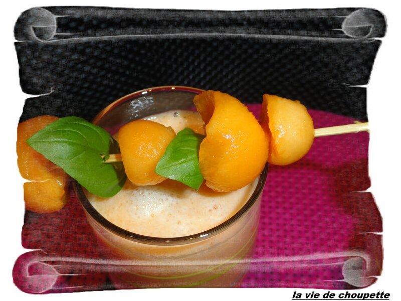 smoothie melon-melonade-sirop de basilic-9708