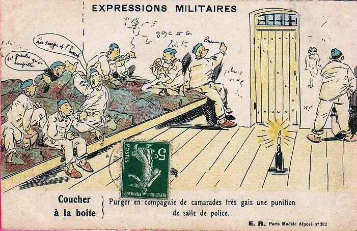 Expression militaire