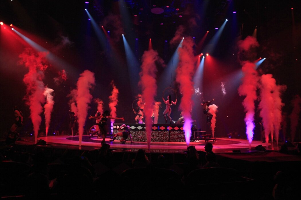 Critique : The Circus Starring : Britney Spears, spectacle