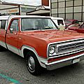 Dodge d100 adventurer-1972