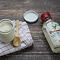 Yaourts à la vanille et au sucre de pommes bio #dolcedi #igbas
