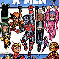 Panini 100% marvel x-men x-babies