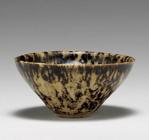 A Jizhou tortoiseshell-glazed tea bowl, Southern Song dynasty (1127-1279)
