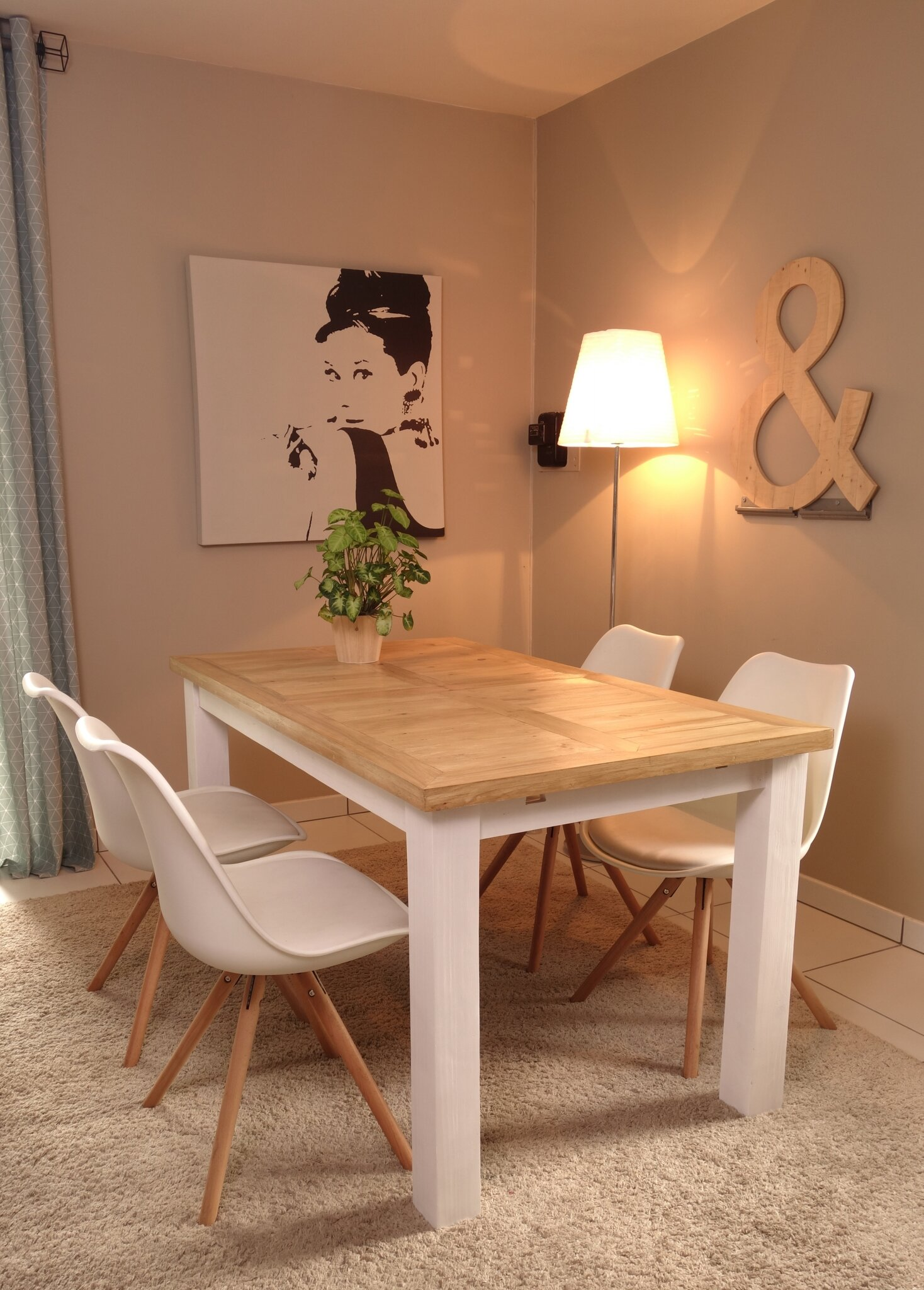 DIY table en palette