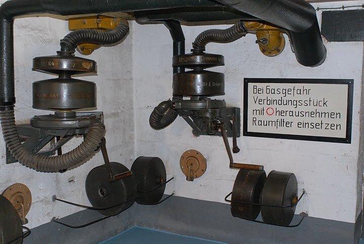 Bunker télémétrie allemande