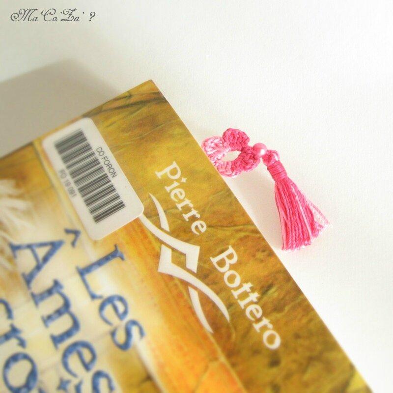 marque page bracelet au crochet 2