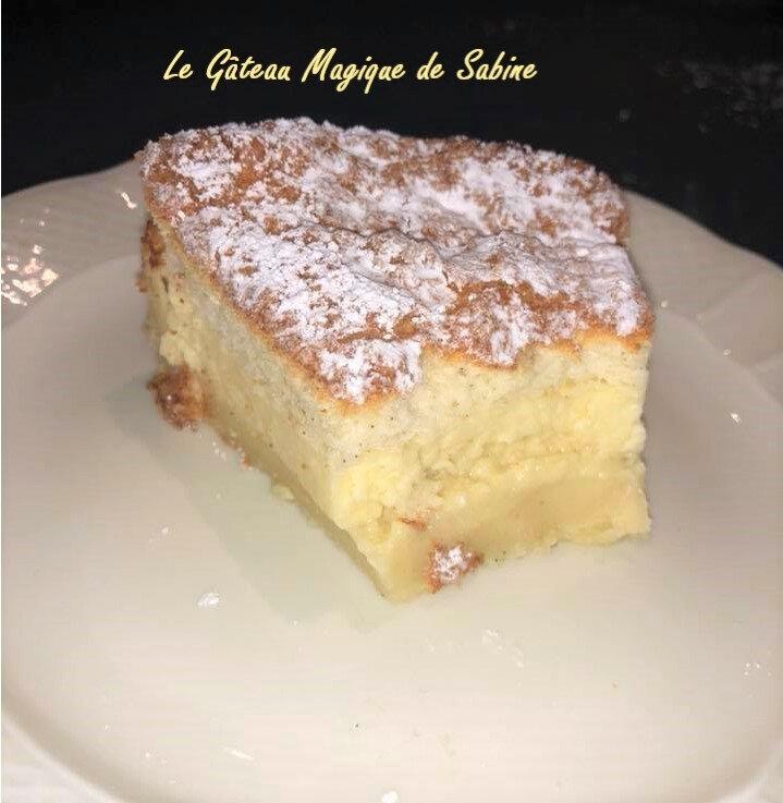 Le Gâteau Magique de Sabine