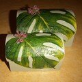 boîtes à bijoux feuilles en serviettage... avec la petite soeur
