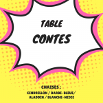 table contes