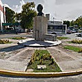 Rond-point à campeche (mexique)