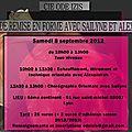 Stage de remise en forme avec sailyne et alexandrah le 8 septembre 2012 à lyon 7e