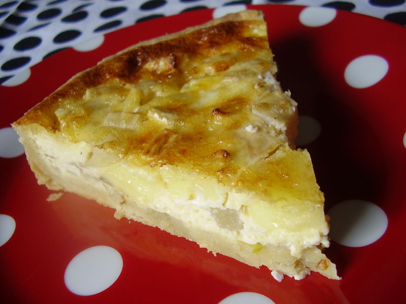 quiche endives-camembert-pommes