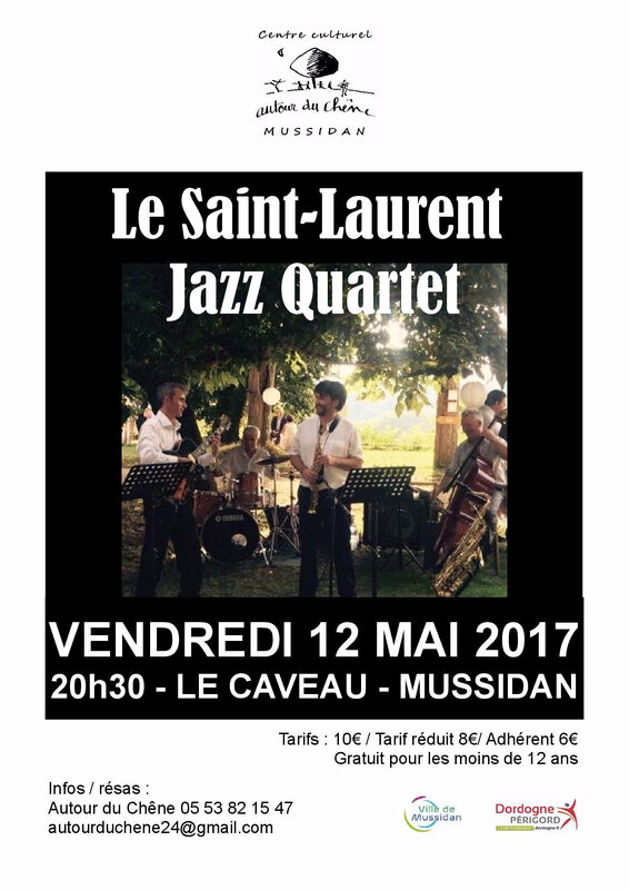 St Laurent Jazz Quartet_Affiche