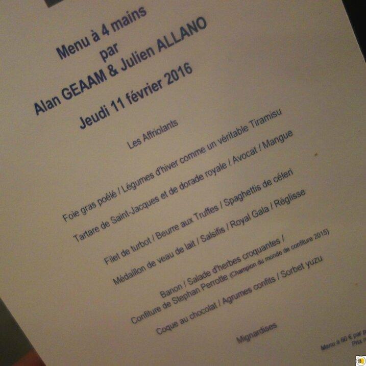 Menu à 4 mains Alan Geaam Julien Allano (6)