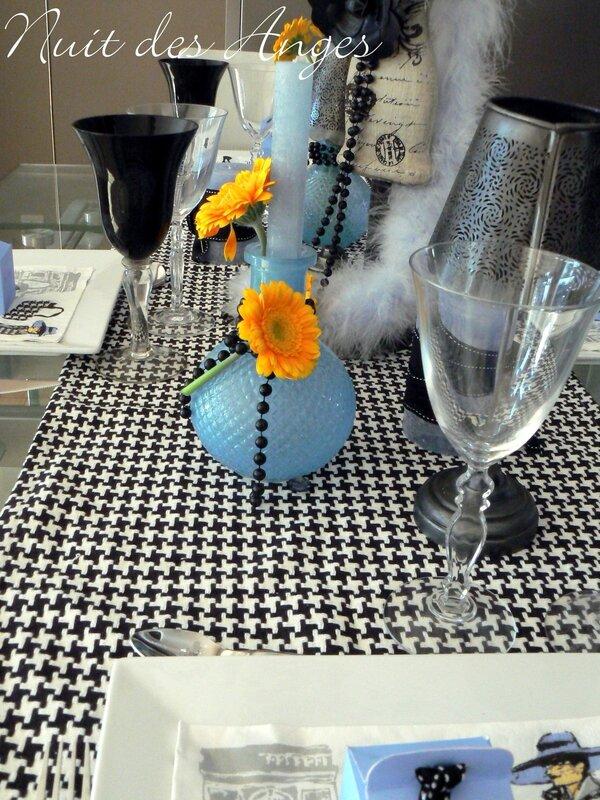 Nuit des anges décoratrice de mariage décoration de table Paris 004