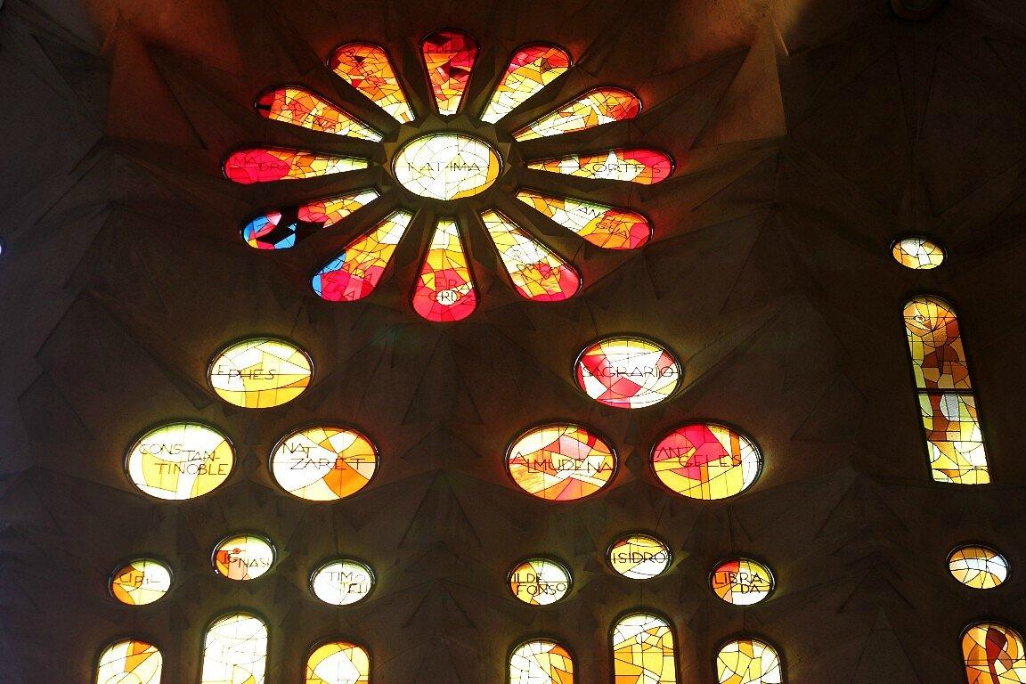 Barcelone, Basilica Sagrada Familia_6698